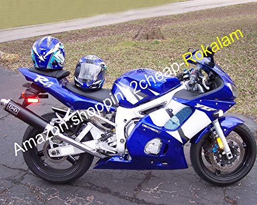 Kit de carénage pour YZF R6 98 99 00 01 02 YZFR6 YZF600 YZF 600 YZF-R6 1998 1999 2000 2001 2002 (moulage par injection)