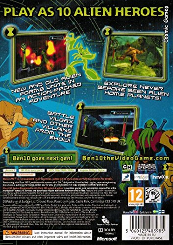 Ben 10 Alien Force: Vilgax Attacks (Xbox 360) [Importación inglesa]