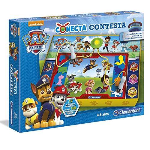Patrulla Canina - Conecta contesta, Juego Educativo (Clementoni 550678)