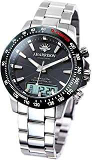 ジョンハリソン JOHN HARRISON メンズ 腕時計 ソーラー 電波 デジアナ式多機能付 JH-094SB