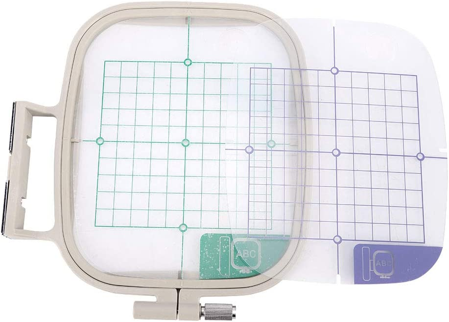 Cheap bargain Sales Embroidery Hoops Clear Grid Hoop Adjust with Machine