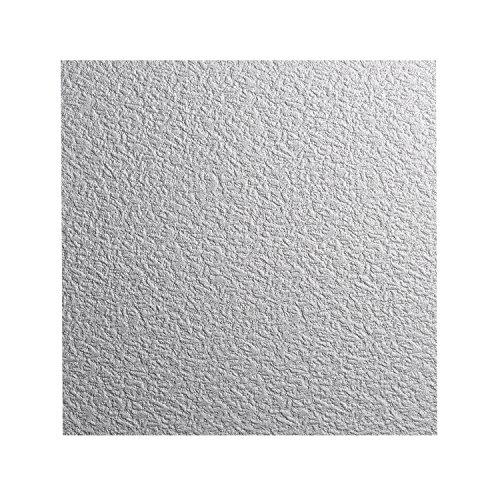 DECOSA Styropor Deckenplatten AP 103 (GENT) in Putz Optik - 80 Platten = 20 m2 - Edle Deckenpaneele weiß - Dekor Paneele 50 x 50 cm - Decken Styroporpaneele