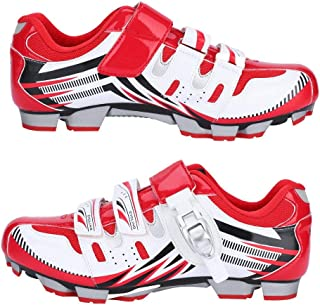 VGEBY1 Men's Bicycle Shoes, Anti-Skid SPD System Bike Spinning Shoe Cycling Footwear Accessory