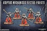 GAMES WORKSHOP 99120116009' Warhammer 40,000' Adeptus Mechanicus Electro-Priests Action Figure