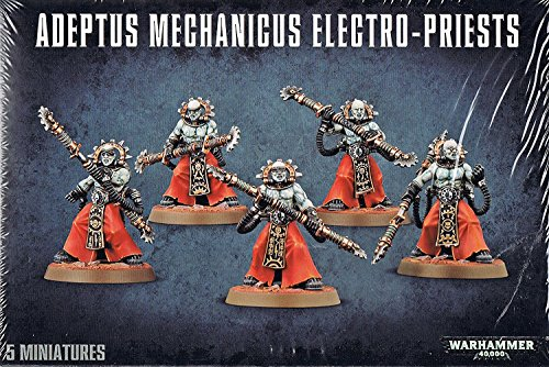 Games Workshop 99120116009 Warhammer 40.000 40K Adeptus Mechanicus Fulgurite Electro-Priests (59-15)