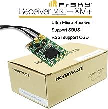 HOBBYMATE FRSKYRC XM+ PLUS 16 Channel Receiver - for FPV Racing Quadcopter Drone - Diversity Antennas Full Range
