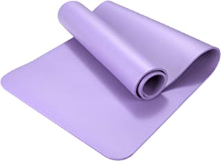 Lixada Eco-friendly NBR Yoga Mats Fitness Sport Gym Exercise Pads Foldable Portable Carpet Mat