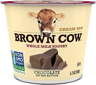 Brown Cow, Cream Top Chocolate Whole Milk Yogurt, 5.3 oz