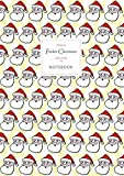 Father Christmas Notebook - Lined Pages - A4 - Premium: (Yellow Edition) Fun Santa notebook 192...