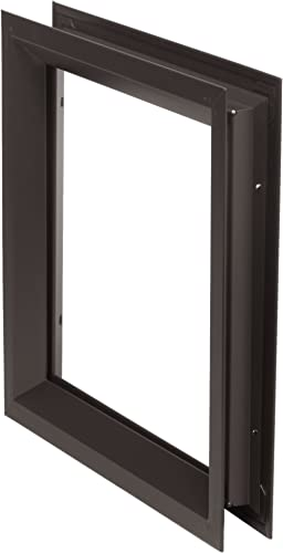 "National Guard Lfra100Dkb12X12 Window Frame Kit, 12"" x 12"""