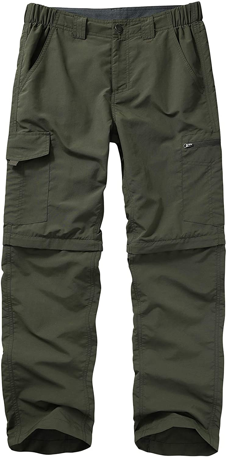 Hiking Pants for Men boy Boston Mall Scout Off Fort Worth Mall Zip Convertible Cargo Lightwe