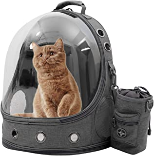 CHEIGHY Pet Carriers Backpacks Bubble Bag, Premium Space Capsule Cat Dog Carrier Backpack Travel Bag Kitten Doggy Back Pac...