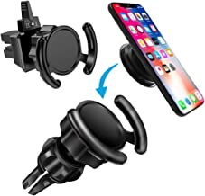 Car Phone Mount 2 Pack Compatible Air Vent Clip Stand for Phone 360° Rotation Expanding Stand Grip Holder GPS Navigation