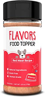 Flavors Food Topper and Gravy for Dogs - Natural, Human Grade, Grain Free - Perfect Kibble Seasoning and Hydrating Treat M...