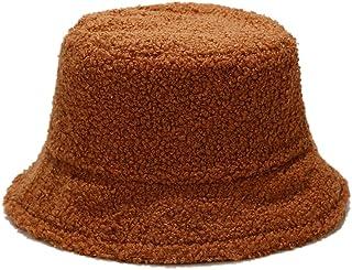Asudaro Vinter sammet fiskarhatt äkta lammhår fiskarhatt män och kvinnor mode klassisk mjuk ylle hink hatt lamm tjock varm...