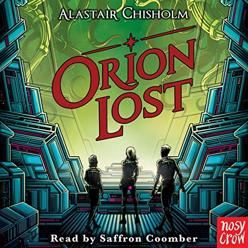 Orion Lost audiobook cover art