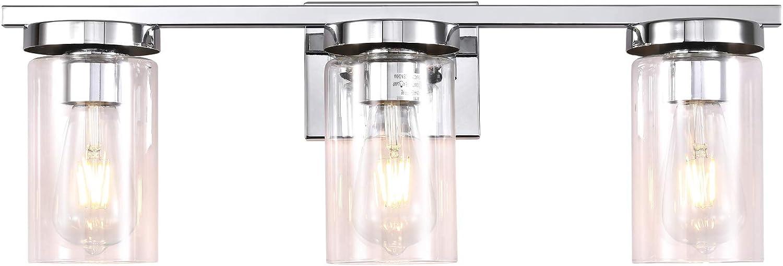 ZILANL Bathroom Vanity Light Fixtu Brushed Nickel Cheap bargain Max 45% OFF 3-Light