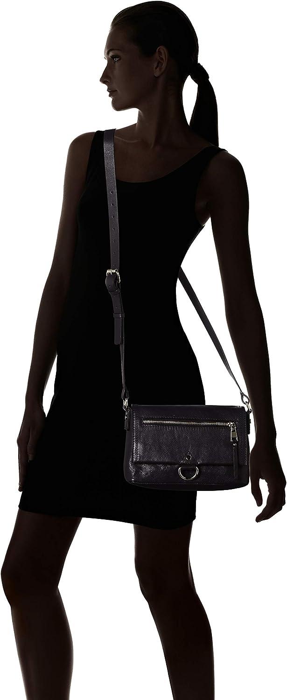 Esprit Accessoires Foc_xea Smshlba, sac bandoulière Noir (Black)