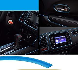 تزئینات داخلی ماشین ، نوار تزئینی Maso Universal Pinstriping نوار 5M آبی ABS 3D با ابزار