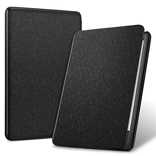 ELTD Custodia Cover per Nuovo Kindle (10th Generation 2019 Release), Smart Case Cover con Kindle E-Reader 2019, Nero
