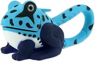 Sun Company Lifelight Animal Carabiner Flashlight - Blue Frog | Mini Animal Keychain Flash Lights | for Kids, Nurses, Camping