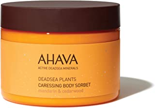 AHAVA Dead Sea Plants Caressing Body Sorbet, 12.3 Fl Oz