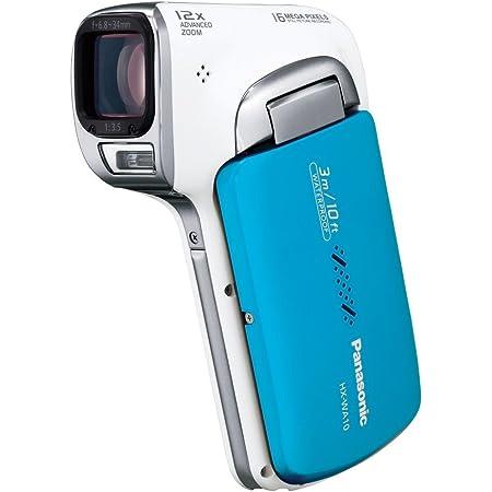 パナソニック 防水デジタルムービーカメラHX-WA10 オーシャンブルー HX-WA10-A