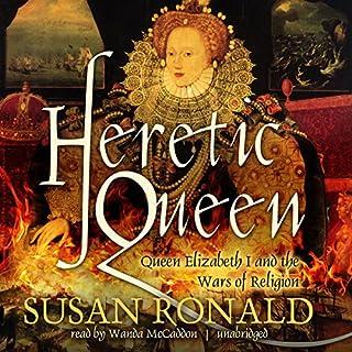 Heretic Queen audiobook cover art