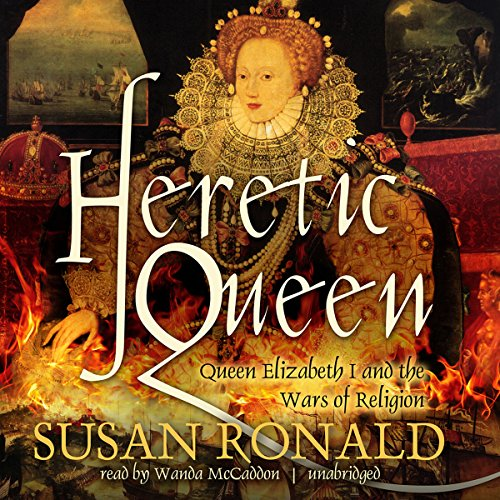 Heretic Queen audiobook cover art