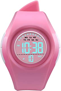 Kids Digital Sport Watch Outdoor Waterproof Watch LED...