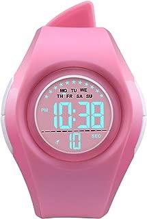 Kids Digital Sport Watch Outdoor Waterproof Watch LED Alarm Stopwatch Child Wristwatch,Toddler Child Watch for Age 3-10Wrist Boys, Girls