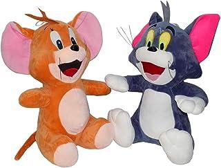 مي-S عالية الجودة محشوة، توم وجيري لعب الاطفال الكرتون، الحيوانات، القطيفة دمية دب محشوة لينة لعبة كومبو للأطفال (30 سم)