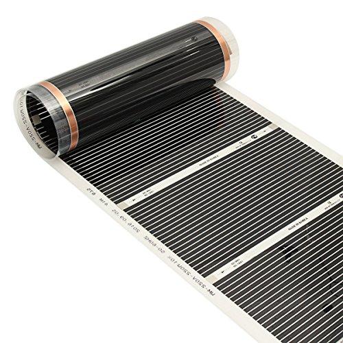 RanDal 50 Cm x 3 Mt 220 V Ferninfrarot Fußbodenheizung Film Kristall Kohlefaser Fußbodenheizung Film