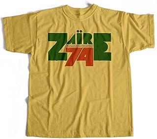 Zaire 74 T Shirt - Classic Boxing/Music Festival Logo Afrobeat 70's Funk