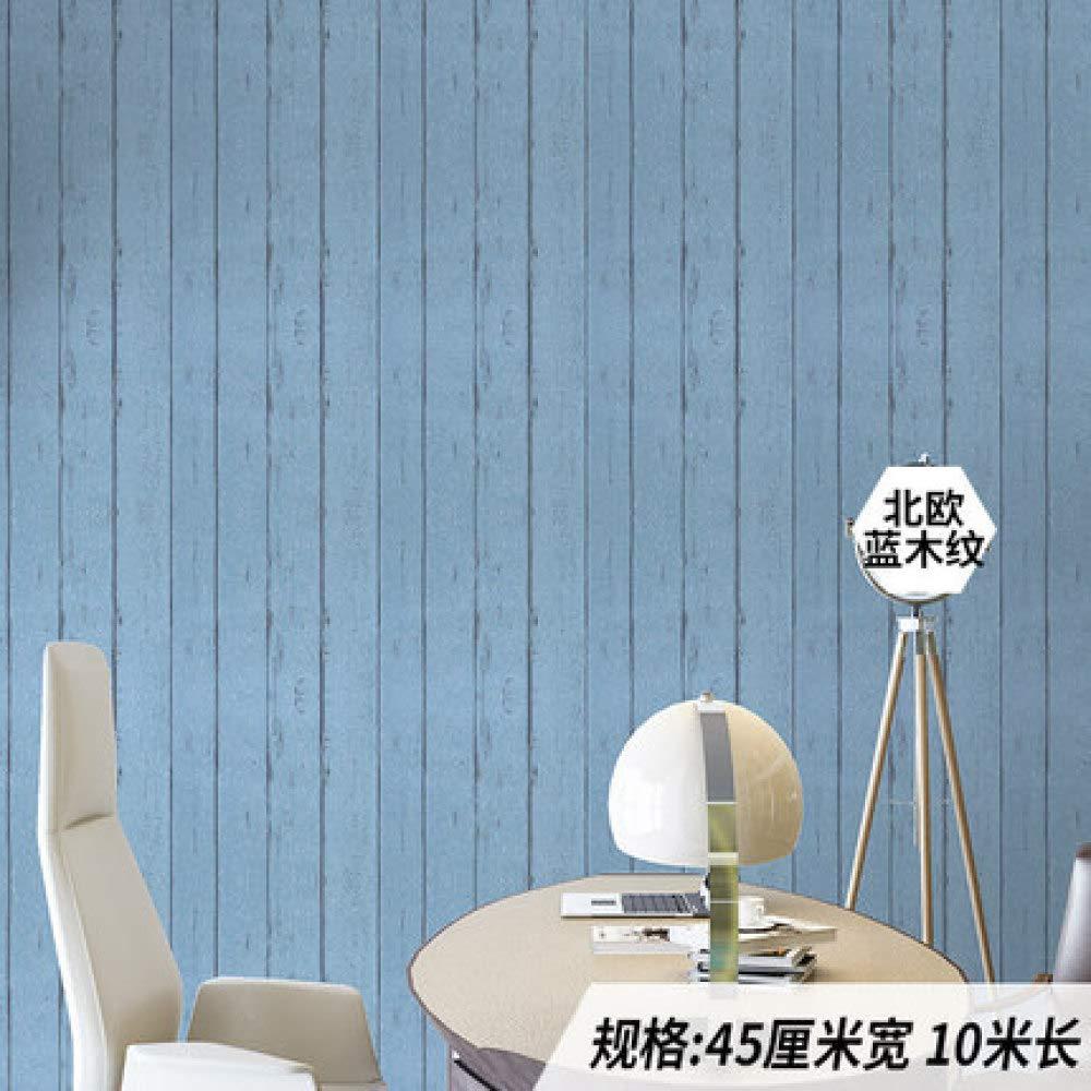 Papel pintado autoadhesivo papel pintado impermeable corredor pared pared azulejo ladrillo escalera ladrillo 0.45m * 10m arce azul 10 metros de largo X45 cm de ancho: Amazon.es: Bricolaje y herramientas
