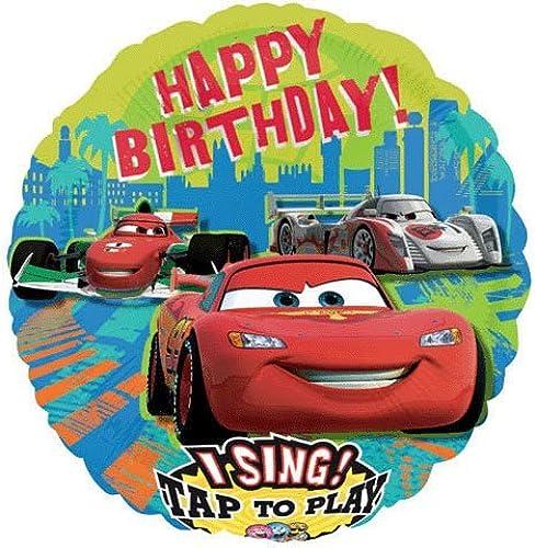 envio rapido a ti Happy Happy Happy Birthday Cars Sing-a-tune 28 Balloon Mylar by CelebrateExpress  ¡No dudes! ¡Compra ahora!