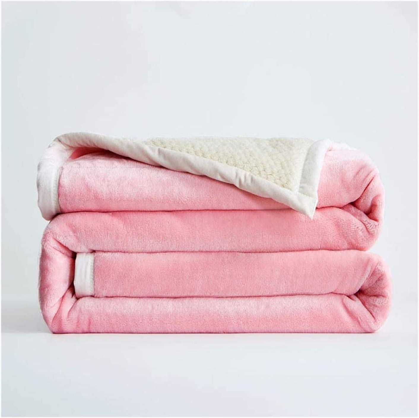 XIAOZHEN Quilt Fleece Blanket Today's only Four Light Rapid rise Warmth Su Plush Seasons