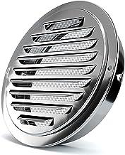 Ventilatiegatplaat Roestvrijstalen buitenkant Muurlucht Outlet Vent Grille 70-200mm Ronde Kanaal Cap Luchtventilatie Cover...