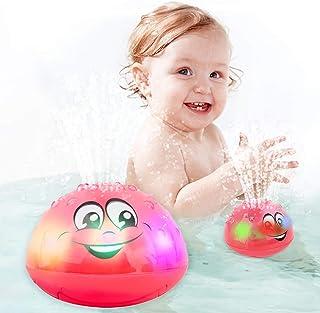 اسباب بازی های حمام کودک SCIONE با چراغ های LED برای کودکان و نوجوانان کودک نوپا حمام آبپاش حمام روشن اسباب بازی های وان برای دختران و پسران