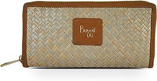 Baggit Autumn-Winter 2020 Faux Leather Women's Ziparound Wallet (Orange) (Musk)