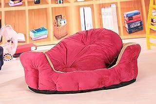 Nfudishpu Soft Pet Supplies Kennel Mat Soft Warm Can Deep Sleep Pet Nest Pet Mat