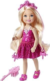 Barbie DKB57 Endless Hair Kingdom Chelsea Doll, Pink