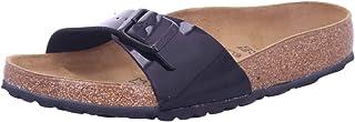 Birkenstock Madrid Birko Flor Nubuck Patent Women's Fashion Sandals