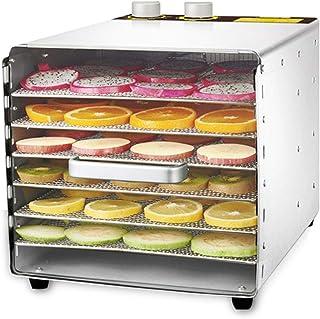 Séchoir pour aliments, température réglable de 33 à 80 ° C Sécheur à fonction de synchronisation pour les fruits frais et ...