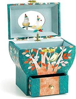 Music box صندوق الموسيقى مربع الموسيقى الدورية الرقص مجوهرات تخزين الحلي الإبداعية هدية مجوهرات مربع الموسيقى Decor (Color...