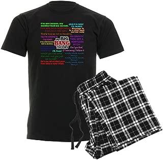 Big Bang Theory Quotes Men's Dark Pajama Set