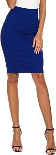 Best royal blue pencil skirt Reviews