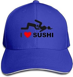 I Love Sushi野球帽子