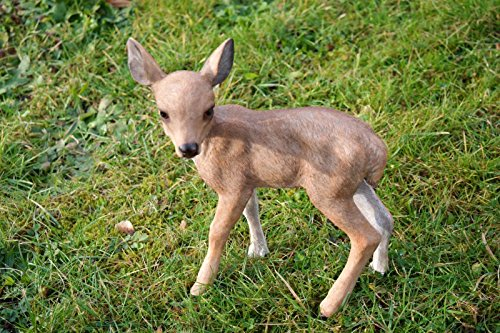 Unbekannt Rehkitz Figur 25 cm REH Wild Gartenfigur