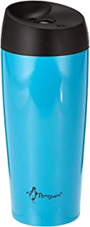 Penguen 0.4 L Double Wall Travel Mug - Blue and Black